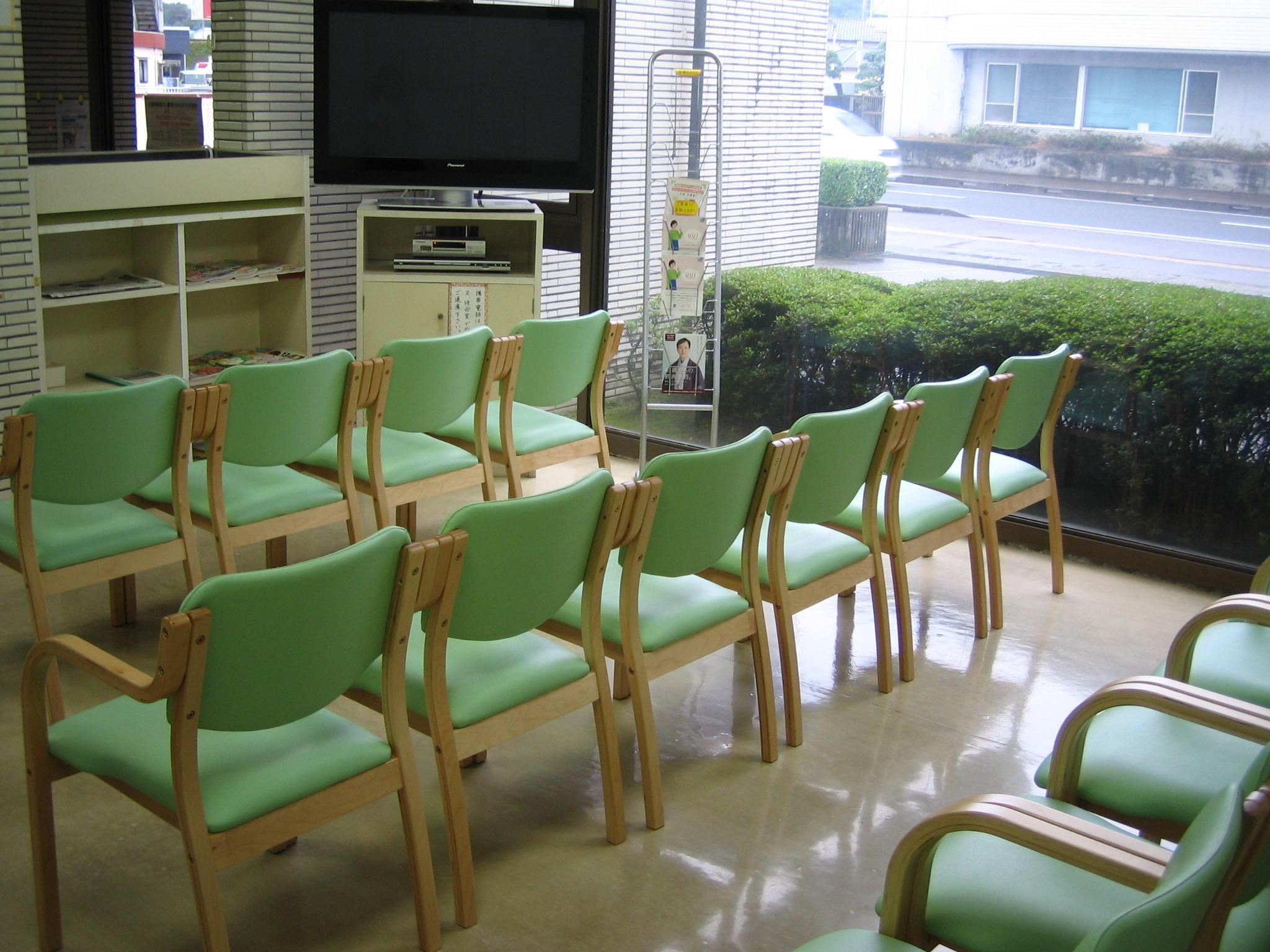 山本医院 待合室